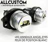 LED FRONT LIGHT RINGS ANGEL EYES WHITE XENON 2x 6W for BMW E90 E91 3 SERIE 05-08