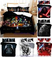 Star Wars 3D Digital Design Print Bedding Set Duvet Cover Pillowcase 3pcs Set