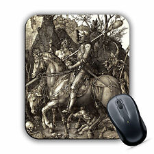 Knight Death and the Devil Albrecht Durer Quality MOUSE MAT Pad Classic Art Gift