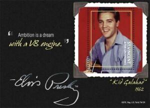 St. Vincent 2011 - SC# 3793 Elvis Presley, Kid Galahad - Souvenir Sheet - MNH