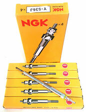 NGK Y536J Glow Plugs 5pcs for Ssangyong Actyon, Actyon Sports, Kyron