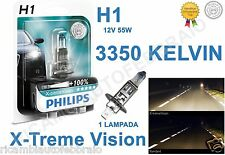 Lampadina philips H1 X-Treme Vision +100% 3350K Bianca Fiat Marea Weekend 98>