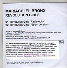 (CC132) Mariachi El Bronx, Revolution Girls - 2011 DJ CD