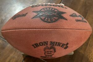 BEARS VS PATRIOTS FOOTBALL IRON MIKE'S STEAKHOUSE DITKA SB XX RESTAURANT BALL