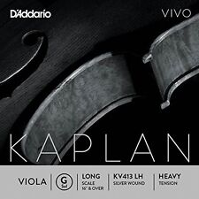 D'Addario Kaplan Vivo Viola G String, Long Scale, Heavy Tension