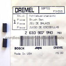 DREMEL Genuino Original Escobillas de carbón 398 y 400 Taladro rotativo parte 2610907940