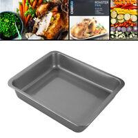 Roaster Tray Baking Tin Pan Roasting Non Stick Turkey Chicken Oven Deep Cooking