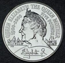 2000 GREAT BRITAIN - FIVE POUNDS - COPPER-NICKEL - Eliz II - QUEEN MOTHER - Nice