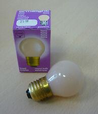 ormalight Lámpara de Lágrima E27 25w Ø 45mm Llama Bombilla Terracota Suave -