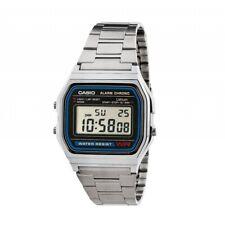 Reloj Casio Retro Plateado A158WA Vintage Envío Postal 48/72 Horas