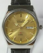 Vintage Citizen 21J Automatic Movement Day Date Dial  Analog Wrist Watch U360