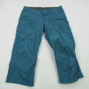 Kuhl Women's Hiking Pants Regular Fit Size 2 Blue Activewear Camping