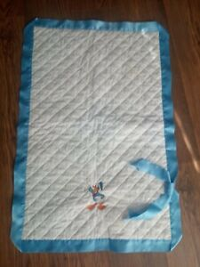 Romany Spanish Broderie Anglaise Baby Wrap Blanket Disney