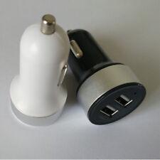 Dual USB Samsung Adaptor Charger iPod Car Universal HTC 2-Ports 12V-24V to 5V/2A