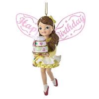 Kurt Adler Sugar Fairy Happy Birthday Christmas Tree Decor Collectible Ornament