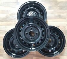 Stahlfelgensatz Nissan 6Jx15 ET45 LK4x114.3 schwarz KFZ8410 (Int.Nr.U1341)