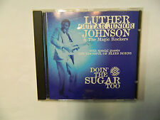 "Luther Guitar "" Johnson - Doin' the Sugar Too - CD Bullseye Blues ‎– BB 9563"