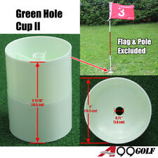 1pc Green Hole Cup II Plastic Practice Aids