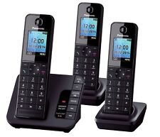 Panasonic KX-TGH223 Trio Cordless DECT phone with Answering Machine 3 Handsets