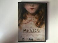 MUÑECAS DVD AINHOA RODRIGUEZ CRISTINA HIGUERAS CORTOMETRAJE  TERROR
