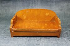 Vtg DollHouse Miniature Doll House Wanner Grand Rapids Living rm Couch Furniture