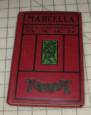 1895 MARCELLA Mrs. Humphry Ward HC Book #1 in VG+++ Condition