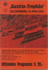 1976 April Salzburgring Program David Hobbs Derek Bell Dolomite Triumph FIA F1