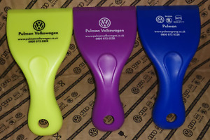Pulman Volkswagen Plastic Ice Scraper - Choice of Colours