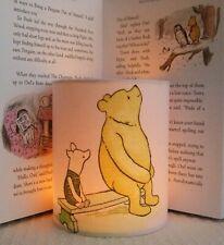 Disney Winnie the Pooh and Piglet -    Handmade Nursery Night Light