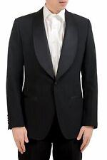 Dolce & Gabbana Men's Silk Wool Tuxedo Striped Blazer Sport Coat US 38 IT 48