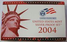 2004 S US Mint Silver Proof Set