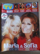 TV Sorrisi e Canzoni n°40 2002 Maria De Filippi Sofia Loren RON  [D54]