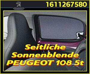 Sonnenschutz, Sonnenblende PEUGEOT 108 5-türer, Original PEUGEOT  OE 1611267580