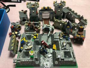 LEGO Castle Kings Castle Siege 7094 In 2007 Used Retired P3 Junk