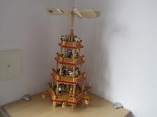 Weihnachtspyramide Weihnachts Pyramide 4 Ebenen 6 Kerzenhalter Weihnachtsdeko
