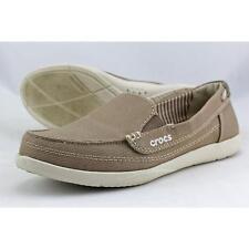 Crocs Walu Women US 6 Tan Loafer Pre Owned  1869