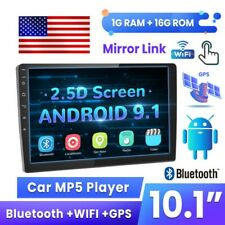 10.1 Inch Car Radio Android 9.1 WIFI GPS MP5 Player Touch Screen Stereo FM 2 Din