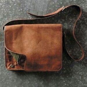 Handmade Vintage Handbag Leather Messenger Purse Sling Crossbody Satchel bag New