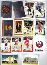 1989-90 Panini Hockey Sticker Set (384) NRMT