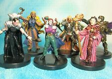 Dungeons & Dragons Miniatures Lot  Mage Cleric Wizard Healer !!  s112