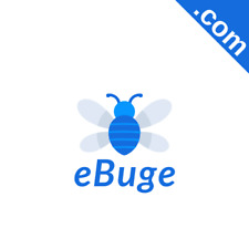 EBUGE.com 5 Letter Premium Short .Com Marketable Domain Name