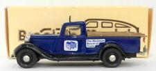 Modellini statici di auto, furgoni e camion pickup blu scala 1:43