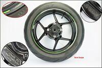 Cerchio posteriore con pneumatico originale  kawasaki z 800 abs 2012 2016