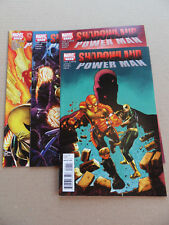 Shadowland : Power Man  1 - 4 . #1 Iron Fist App .Lot Complet . Marvel 2010 . VF
