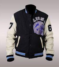 Beverly Hills Cop Axel Foley Detroit Lions Vintage Sports Letterman Jacket