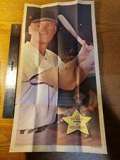 1968 TOPPS Baseball Poster, Rusty Staub No. 22