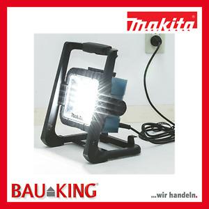 Makita LED Baustrahler 14,4 - 18 V DEADML805 DML805 230V Strahler Lampe Akkustra