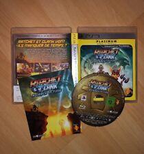 Rachet Clank: A Crack In Time - Jeu PS3 complet Version Francaise Platinum