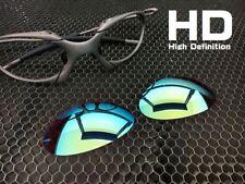 1c9ebab42f LINEGEAR Custom Lens for Oakley X-Metal Romeo1  Prizm - HD Turquoise R1