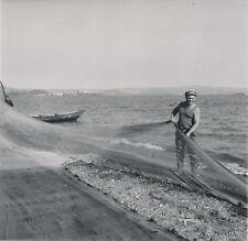 BOLSENA c. 1960 - Pêcheurs Filet de Pêche Italie - NV 1296